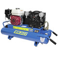 Estwing E10GCOMP 10 Gal./5.5 HP Portable Gas-Powered Twin Stack Air Compressor with Honda GS 160 4-Stroke Engine image number 0