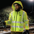 Makita DCJ206ZM 18V LXT Lithium-Ion Cordless High Visibility Heated Jacket (Jacket Only) - Medium image number 5