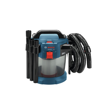 Bosch GAS18V-3N 18V 2.6 Gal. Wet/Dry Vacuum Cleaner with HEPA Filter (Tool Only) image number 1