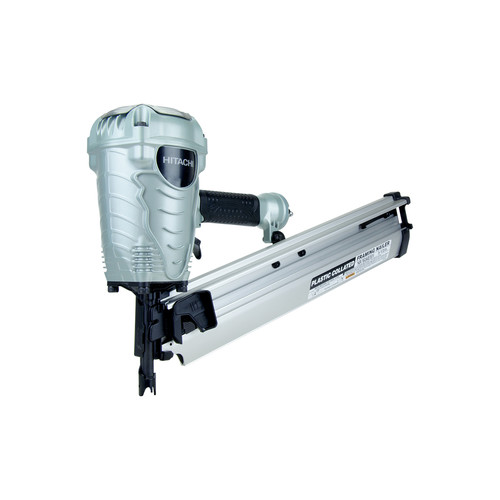Factory Reconditioned Hitachi NR90AES1 2 in. to 3-1/2 in. Plastic Collated Framing Nailer image number 0