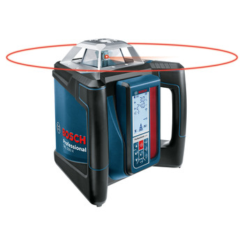 Factory Reconditioned Bosch GRL500HCK-RT Self-Leveling Horizontal Rotary Laser Kit image number 1