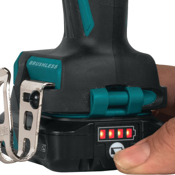 Makita FD07R1 12V max CXT Lithium-Ion Brushless 3/8 in. Cordless Drill Driver Kit (2 Ah) image number 8