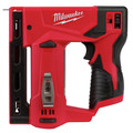 Milwaukee 2447-20 M12 Compact Lithium-Ion 3/18 in. Cordless Crown Stapler (Tool Only) image number 1
