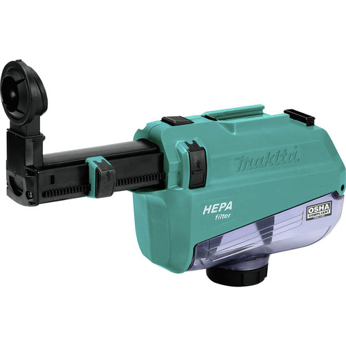 Makita DX05 Dust Extractor Attachment with HEPA Filter for XRH12 image number 1