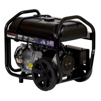 Factory Reconditioned Powermate PM0126000R 6,000 Watt 414cc Gas Portable Generator image number 0