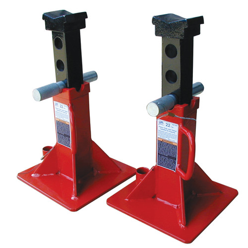 ATD 7449 22 Ton Pin Style Jack Stand Set image number 0