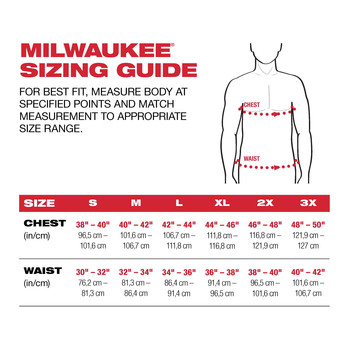 Milwaukee 203OG-20XL M12 Heated AXIS Jacket (Jacket Only) image number 1
