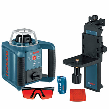 Bosch GRL300HV Self-Leveling Rotary Laser with Layout Beam image number 1