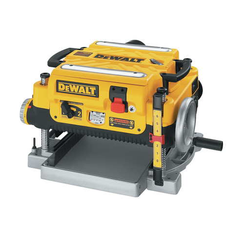 Dewalt DW735 13 in. Two-Speed Thickness Planer image number 0