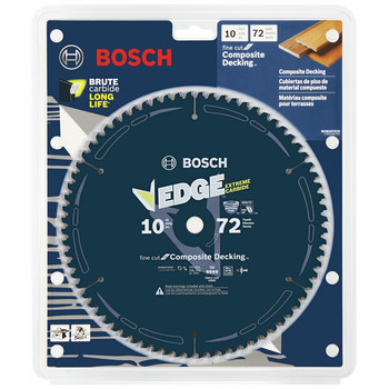 Bosch DCB1072 Daredevil 10 in. 72 Tooth Circular Saw Blade for Laminate and Melamine image number 1