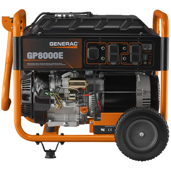 Factory Reconditioned Generac 6931R 420cc Gas 8,000 Watts Portable Generator with Cord image number 3