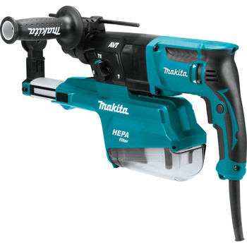 Makita HR2651 7 Amp 1 in. Pistol-Grip Rotary Hammer with HEPA Extractor image number 1
