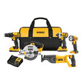 Factory Reconditioned Dewalt DCK520D2R 20V MAX Cordless Lithium-Ion 5-Tool Combo Kit