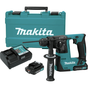 Makita RH02R1 12V max CXT Lithium-Ion 9/16 in. Rotary Hammer Kit, accepts SDS-PLUS bits (2.0Ah) image number 2