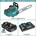 Makita XCU09PT 18V X2 (36V) LXT Lithium-Ion Brushless Cordless 16 in. Top Handle Chain Saw Kit (5 Ah) image number 1