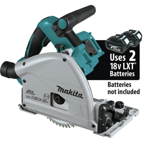 Makita XPS02ZU 18V X2 LXT Lithium-Ion (36V) Brushless 6-1/2 in. Plunge Circular Saw with AWS (Tool Only)