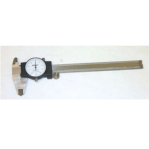 Central Tools 3C101 0 to 6 in. Dial Caliper image number 0