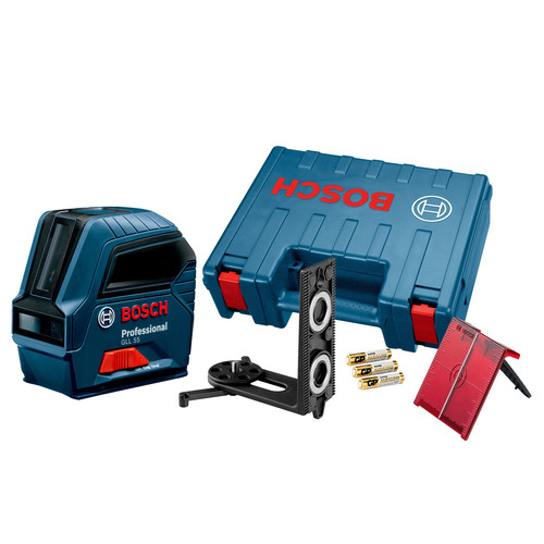 Bosch GLL55 Professional Self-Leveling Cross-Line Laser