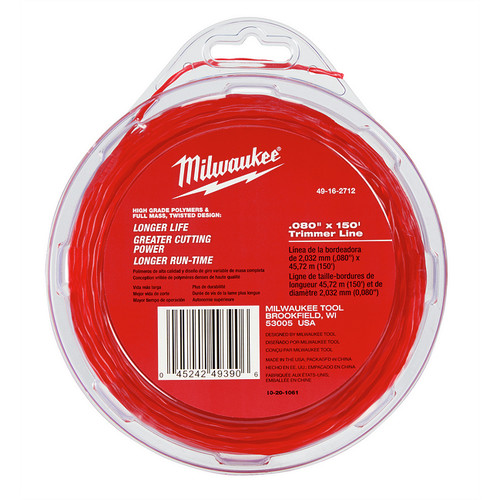 Milwaukee 49-16-2712 0.080 in. x 150 ft. Trimmer Line