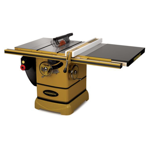 Powermatic PM2000 3 HP 10 in. Single Phase Left Tilt Table Saw with 30 in. Accu-Fence and Riving Knife