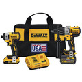 Factory Reconditioned Dewalt DCK299D1T1R 20V MAX FlexVolt Cordless Lithium-Ion Hammer Drill and Impact Driver Combo Kit with 2 Batteries