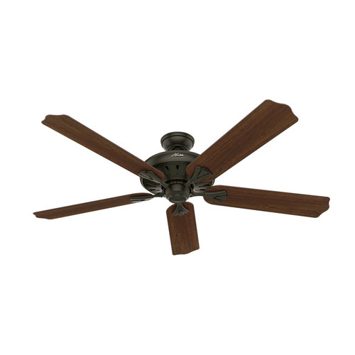 Hunter 54018 60 in. Royal Oak New Bronze Ceiling Fan with Handheld Remote