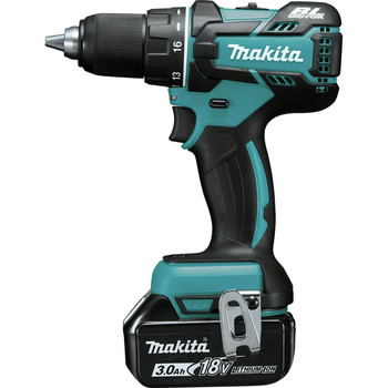 Factory Reconditioned Makita XFD061-R 18V LXT Lithium-Ion Brushless Compact 1/2 in. Cordless Drill Driver Kit (3 Ah) image number 2