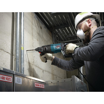 Factory Reconditioned Bosch 11255VSR-RT 1 in. SDS-plus D-Handle Bulldog Xtreme Rotary Hammer image number 7