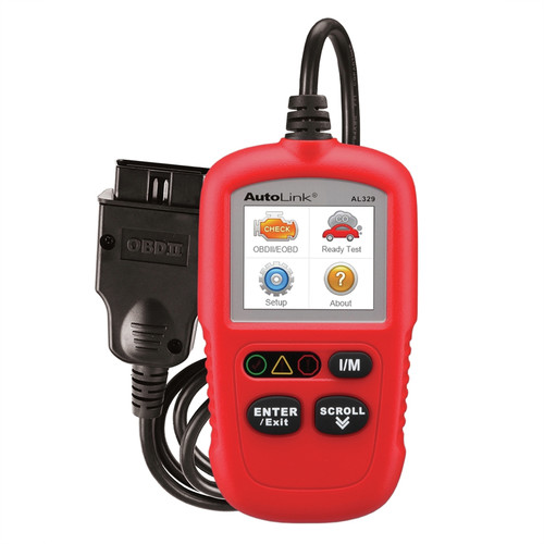 Autel AL329 Code Reader with One-Press I/M Readiness Key image number 0