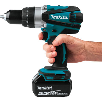 Makita XFD03M 18V LXT Lithium-Ion 1/2 in. Cordless Drill Driver Kit (4 Ah) image number 2
