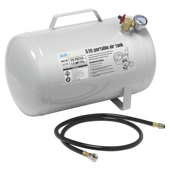 Quipall 5-TANK 5 Gallon Stationary Air Tank