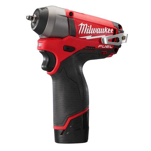 Factory Reconditioned Milwaukee 2452-82 M12 FUEL 12V Cordless Lithium-Ion 1/4 in. Impact Wrench
