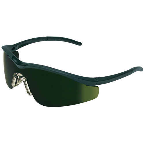 Crews T11150 Triwear Protective Eyewear with Filter 5.0 Green Lens