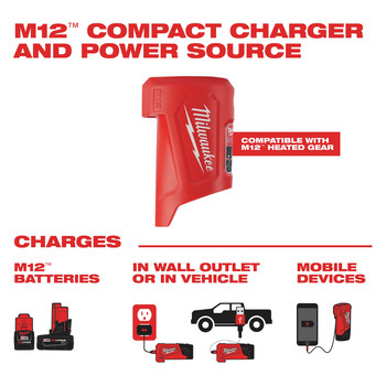 Milwaukee 203RN-21L M12 3-in-1 Heated AXIS Jacket Kit with Rainshell image number 10