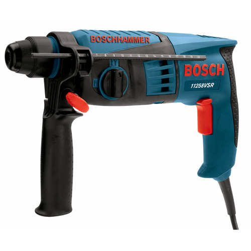 Bosch 8.5 Amp Corded 1-1//8 in SDS Plus Rotary Hammer Dril  Factory Reconditioned
