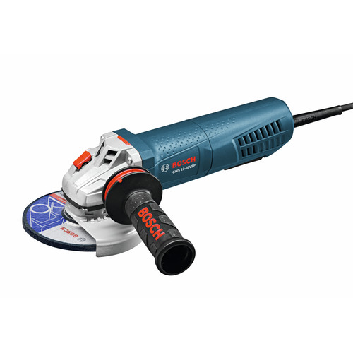 Factory Reconditioned Bosch GWS13-50VSP-RT 120V 13 Amp 5 in. High-Performance Variable Speed Angle Grinder with Paddle Switch