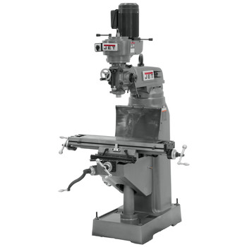 JET JVM-836-3 8 in. x 36 in. 1-1/2 HP 3-Phase Vertical Milling Machine