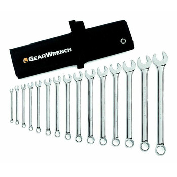 GearWrench 9545 4 Piece SAE Reversible Ratcheting Wrench Completer Set