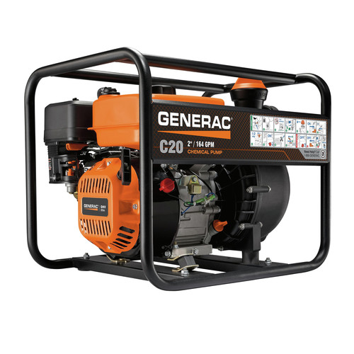 Generac 7126 C20 2 in. Chemical Pump with Easy Prime Funnel