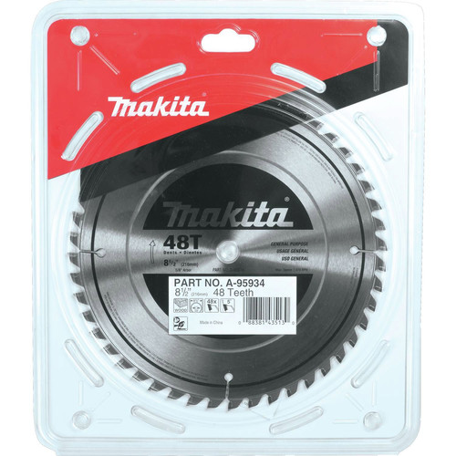 Makita A-95934 8-1/2 in. 48 Tooth Carbide-Tipped Miter Saw Blade