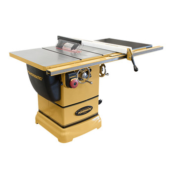 Powermatic PM1000 1-3/4 HP 10 in. Single Phase 115V Left Tilt Table Saw with 30 in. Accu-Fence System