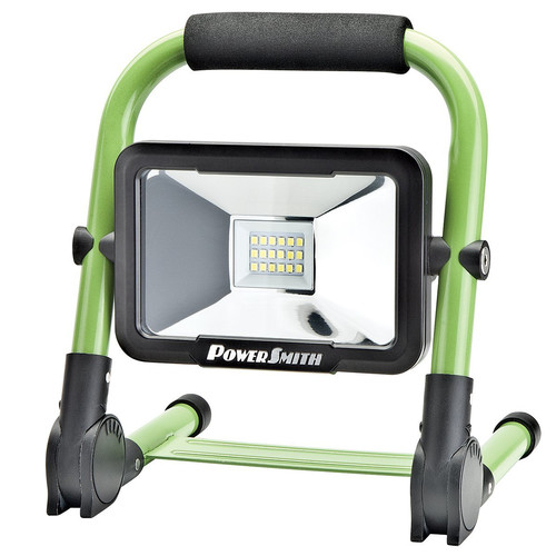 Portable 60 Leds 350lm Rechargeable Cordless Work Light: PowerSmith PWLR1110F 10 Watt 900 Lumen Rechargeable LED