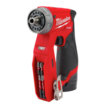 Milwaukee 2505-22 M12 FUEL Lithium-Ion 3/8 in. Cordless Installation Drill Driver Kit (2 Ah) image number 8