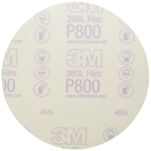3M 1320 6 in. P800 Stikit Finishing Film Disc (100-Pack)