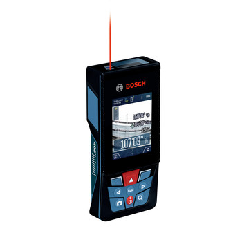 Factory Reconditioned Bosch GLM400CL-RT BLAZE Outdoor 400 ft. Connected Lithium-Ion Laser Measure with Camera