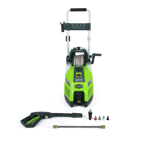 Greenworks 5101902 GPW2001 2,000 PSI/1.2 GPM/13 Amp Electric Pressure Washer