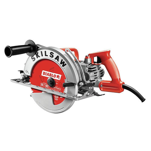 SKILSAW SPT70WM-22 Sawsquatch 15 Amp 10-1/4 in. Magnesium Worm Drive Circular Saw image number 0
