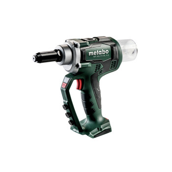 Metabo 619002890 NP 18 LTX BL 5.0 18V 3/16 in. Cordless Blind Riveting Gun (Tool Only)