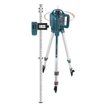 Factory Reconditioned Bosch GRL240HVCK-RT Self-Leveling Rotary Laser Level Kit image number 2
