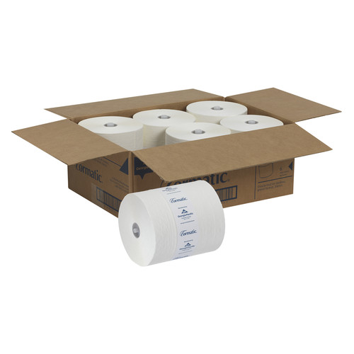 Georgia Pacific Professional 2930P Hardwound Roll Towels, 8 1/4 x 700ft, White, 6 Rolls/Carton image number 0